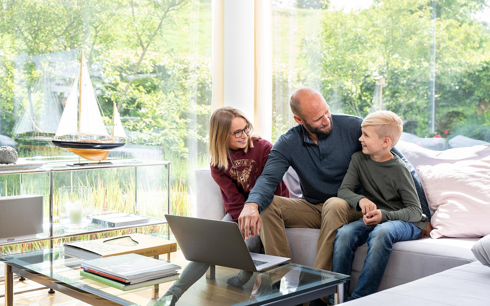 WWZ Smartfamily - Energie und Telekom für Familien